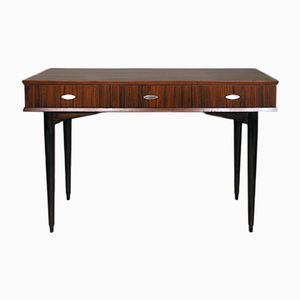 Mid-Century Rosewood & Walnut Console Table from Herbert Gibbs
