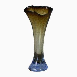 Vase Art Déco en Verre par Adam Jablonski, 1960s