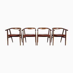 Model 525 Dining Chairs by Hans J. Wegner for Getama, Set of 4
