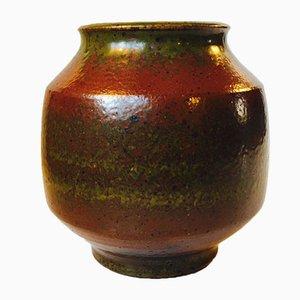 Solfatara Glazed Stoneware Vase by Marianne Starck for Michael Andersen & Son, 1950s