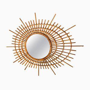 Spiralenförmiger Italienischer Spiegel, 1960er