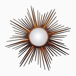 Sunburst Mirror from Chaty Vallauris, 1960s