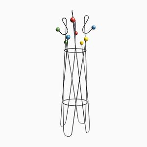Clef De Sol Coat Stand by Roger Feraud, 1960s