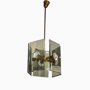 Crystal Art Lampe von Gino Paroldo für Fontana Arte