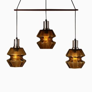Swedish Pendants Light by Carl Fagerlund for Orrefors, 1960s