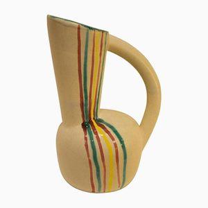 Vase mit Streifen von Vallauris, 1960er