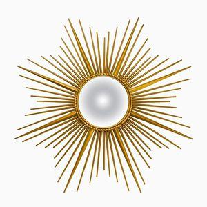 Französischer Spiegel Rahmen in Sonnen Optik von Chaty Vallauris, 1960er