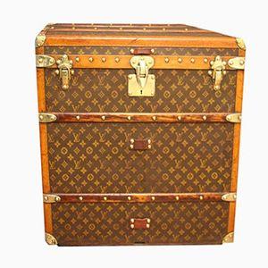 Coffre à Chapeaux Cube de Louis Vuitton, 1920s