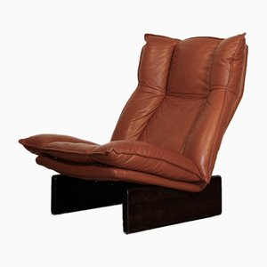 Leather Lounge Chair from Leolux, 1970s