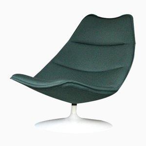 Minzgüner F584 Sessel von Geoffrey D. Harcourt für Artifort