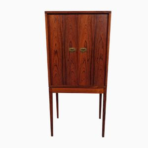 Mid-Century Rosewood Pipe Cabinet by Henning Korch for Silkeborg Møbelfabrik, 1960s