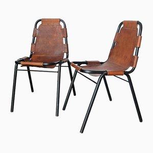 Esszimmerstühle von Charlotte Perriand für Les Arcs Ski Resort, 2er Set