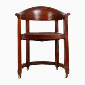 Chaise de Bureau Arts and Crafts, 1910s