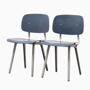 Revolt Chairs by Friso Kramer for Ahrend de Cirkel, 1953, Set of 2