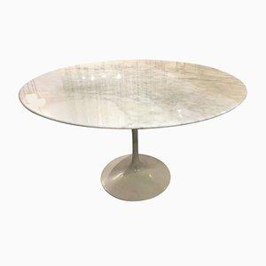 Calacatta Marble Tulip Table by Eero Saarinen for Knoll