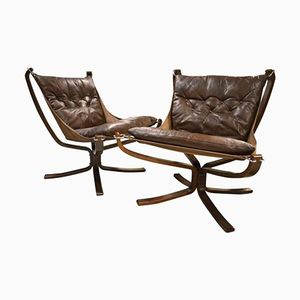 Falcon Stühle von Sigurd Ressell, 1960er, 2er Set