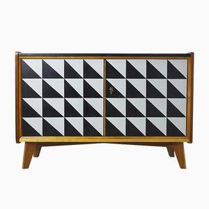 Skandinavisches Sideboard mit Muster, 1970er
