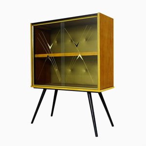 Scandinavian Glass Case with Pattern, 1960s