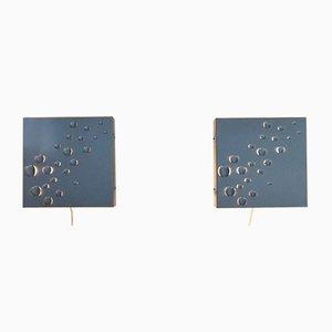 Sterrenregen Wall Lamps from Raak, 1965, Set of 2