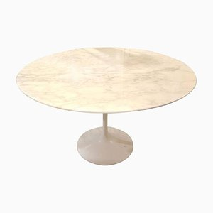 Vintage Calacatta Marble Tulip Table by Eero Saarinen for Knoll
