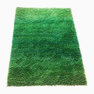 Tappeto rya verde di Marianne Richter per Wahlbecks AB, anni '60
