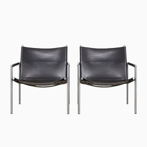 SZ02 Lounge Chairs by Martin Visser for 't Spectrum, 1965, Set of 2