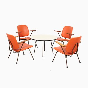 Lounge Set by W.H. Gispen for Kembo, 1950s