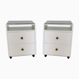 Bedside Tables by Carlo de Carli for Sormani, 1963, Set of 2