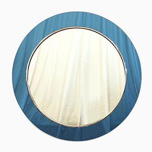 Round Blue Mirror, 1960s