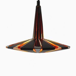 Space Age Disc Pendant by Werner Schou for Coronell Elektrol, 1960s