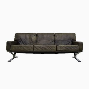 Leather and Chrome Sofa from Artifort