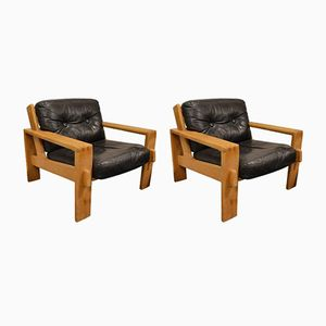 Danish Armchairs by Borge Morgensen, 1960s, Set of 2