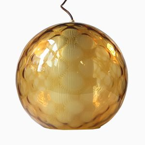 Large Spherical Pendant Lamp from Peill & Putzler, 1950s