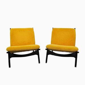 Modell 790 Stühle von J. A. Motte für Steiner, 1960er, 2er Set