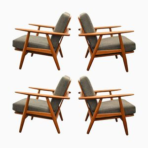 Living Room Set by Hans Wegner for Getama, 1960s
