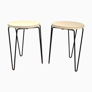 No 75 Stools by Florence Knoll, 1950s, Set of 2