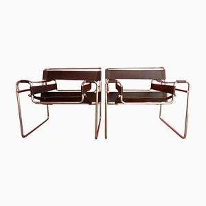 B3 Wassily Chairs by Marcel Breuer, 1925, Set of 2