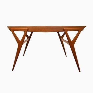Italian Oak Dining Table, 1960s