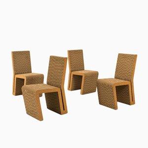 Easy Edges Stühle von Frank Gehry für Vitra, 2000, 4er Set