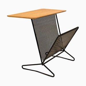 Tavolo portariviste modello TM05 di Cees Braakman per Pastoe, anni '50