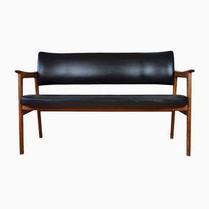 Danish Teak Bench Sofa, 1960s