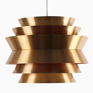Vintage Aluminium Lamp by Carl Thore for Granhaga Metallindustri