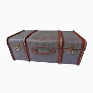 Large Vintage Industrial Suitcase