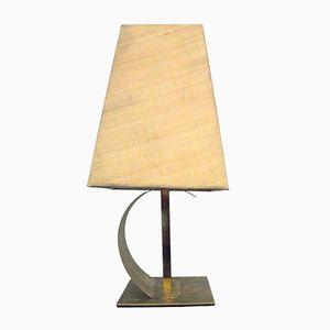 Italian Brass Table Lamp from Fratelli Melani, 1970s