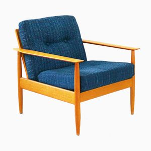 Mid-Century Easy Chair in Beech
