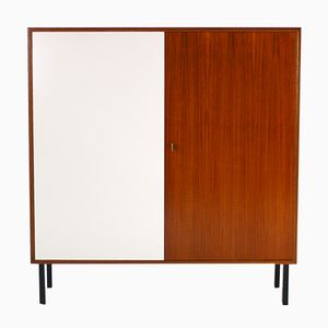 Vintage Walnut Highboard, 1960s