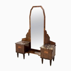 French Art Deco Vanity Table, 1930s