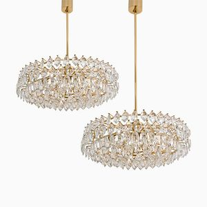 Viennese Chandeliers from Bakelowits & Sohne, 1960s, Set of 2
