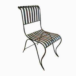 Antique Wrought Iron Chair, 1800s