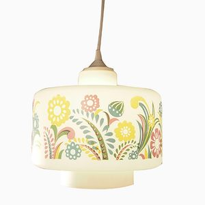 Floral Pendant Hanging Light from Venini